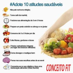 10ATITUDES SAUDÁVEIS